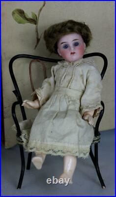 RARE! Antique 6.5 Kestner 192 Jointed body Bisque head German doll mignonette