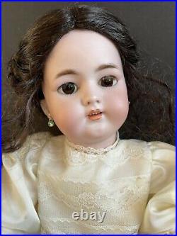 RESERVED Antique German 18 Simon Halbig SH 1079 Dep Bisque Head Doll