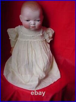 Rare 1920. S Large 18 In Grace S Putnam Bye-lo Baby Doll, 15 In Head