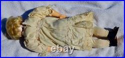 Rare Antique German Bisque Head Kestner 143 Doll Original Jointed Wrist Body