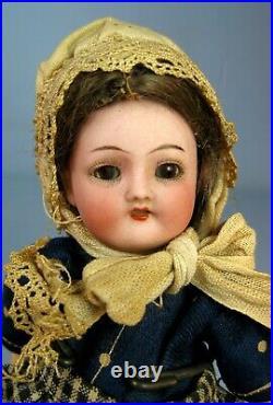 Rare Antique S & C Franz Schmidt & Co Simon Halbig Bisque Head Germany Doll 6