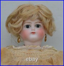 Rare Swivel Head- Bisque Doll- Portrait Lady Alt, Beck and Gottschalck- 1885