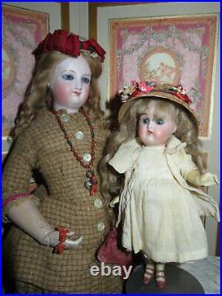 Sale! Adorable Tiny 7 1/2 Antique German Kammer & Reinhardt Bisque Head Doll