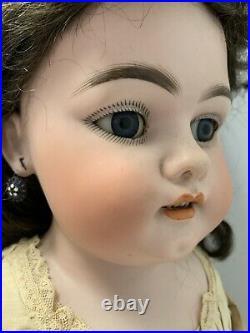 Simon Halbig 1080 Antique 29 German Bisque Shoulder Head Doll