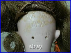 Simon & Halbig Antique 17 German Doll, Bisque Socket Head, Dolly Face #1079