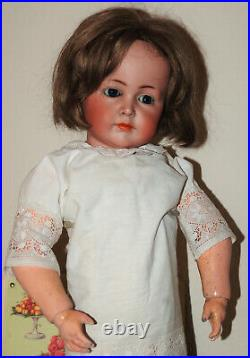 So beautiful 27 K&R Simon Halbig 117/A bisque head doll 1906