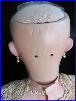 Stunning 21 Antique Simon & Halbig Bisque Head Doll 1078