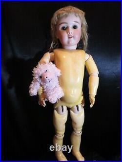 Stunning 30 Antique Bisque Head Doll Heinrich Handwerck 109 / 15 / DEP