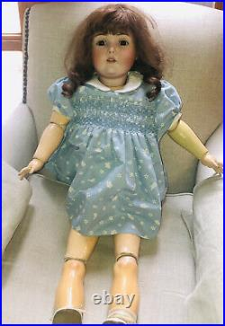 VINTAGE / ANTIQUE KESTNER BISQUE HEAD 16 NO 171 32 INCHES TALL Beautiful Doll