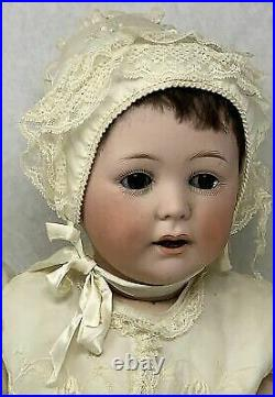 Vintage Antique Jutta Doll 1914 Bisque Head 12 1/2 With Clothing